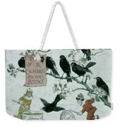 Sing A Song Of Sixpence Weekender Tote Bag