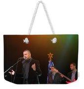 Singer Hasan Ammar In Bethlehem Weekender Tote Bag