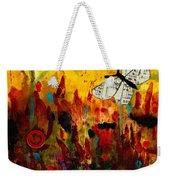 Singing Butterfly Weekender Tote Bag