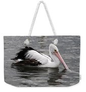 Single Australian Pelican Weekender Tote Bag