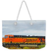 Single Bnsf Engine Weekender Tote Bag
