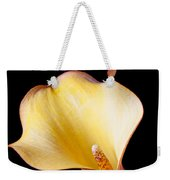 Single Calla Liliy Weekender Tote Bag