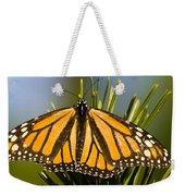 Single Monarch Butterfly Weekender Tote Bag