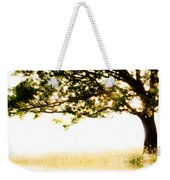 Single Tree In Motion Weekender Tote Bag