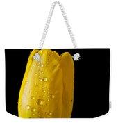 Single Yellow Tulip Weekender Tote Bag