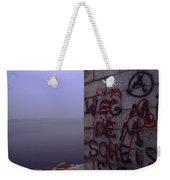 Eerie Morning Weekender Tote Bag
