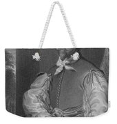 Sir Francis Drake, English Explorer Weekender Tote Bag by Photo Researchers