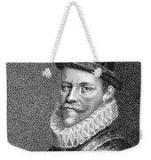 Sir John Hawkins (1532-1595) Weekender Tote Bag