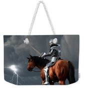 Sir Lightning Rod Weekender Tote Bag