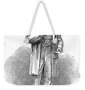 Sir Rowland Hill (1795-1879) Weekender Tote Bag by Granger