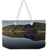 Siskiyou Lake Panorama Weekender Tote Bag