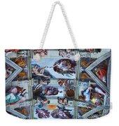 Sistine Chapel Ceiling Weekender Tote Bag