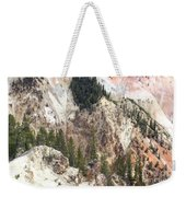 Sit For A Spell At Grand Canyon In Yellowstone Weekender Tote Bag
