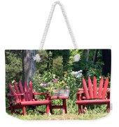 Sit For Awhile Weekender Tote Bag