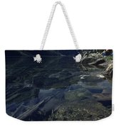 Sitting Along The Sheep River Weekender Tote Bag