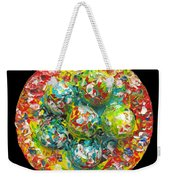Six  Colorful  Eggs  On  A  Circle Weekender Tote Bag