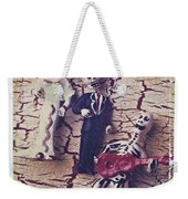 Skeleton Bride And Groom Weekender Tote Bag