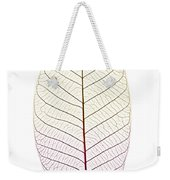 Skeleton Leaf Weekender Tote Bag by Elena Elisseeva