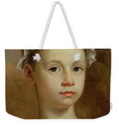 Sketch Of A Young Girl Weekender Tote Bag