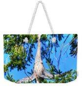 Puget Sound Great Blue Heron Skirt Wings Weekender Tote Bag