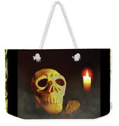 Skull And Candle Weekender Tote Bag