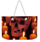 Skull And Candles Weekender Tote Bag