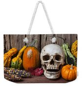 Skull And Gourds Weekender Tote Bag