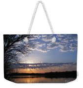 Sky At Dusk Weekender Tote Bag