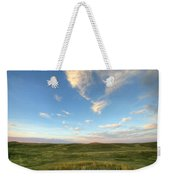 Sky At Sunset, Grasslands National Weekender Tote Bag