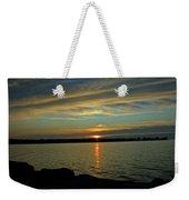 Sky Waves Weekender Tote Bag