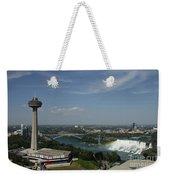 Skylone Tower And Niagara Falls Weekender Tote Bag