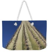 Skyward View Of A Saguaro Cactus Weekender Tote Bag
