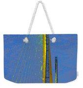 Skyway Crossing Weekender Tote Bag by David Lee Thompson