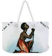 Slavery: Woman, 1832 Weekender Tote Bag