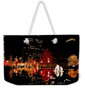 Slc Temple Nativity Pond Weekender Tote Bag