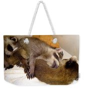 Sleep Buddies Weekender Tote Bag