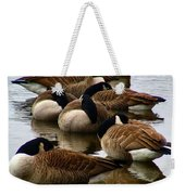 Sleepy Geese Weekender Tote Bag