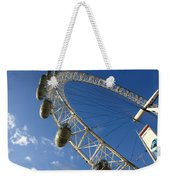 Slice Of The Wheel Of London Eye From An Angle Weekender Tote Bag