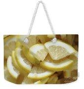 Slices Of Lemon Weekender Tote Bag