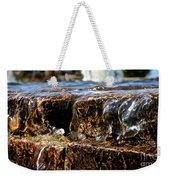 Sliding Water Weekender Tote Bag