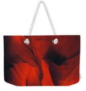 Slot Canyon Abstract Weekender Tote Bag