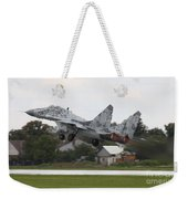 Slovak Air Force Mig-29 Fulcrum Taking Weekender Tote Bag