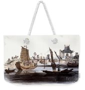 Sluice In China, 1800 Weekender Tote Bag