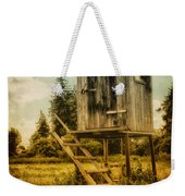 Small Cabin With Legs Weekender Tote Bag