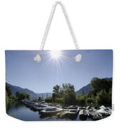 Small Harbor Weekender Tote Bag