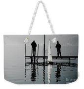 Small Sailing Boat Weekender Tote Bag