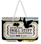 Small Stuff Weekender Tote Bag