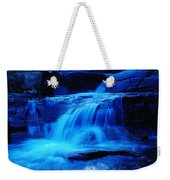 Small Waterfall Going Into Spirit Lake  Weekender Tote Bag