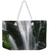 Small Waterfall Near The Milford Track Weekender Tote Bag