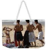 Smile Boys Bondi Beach Australia Weekender Tote Bag
